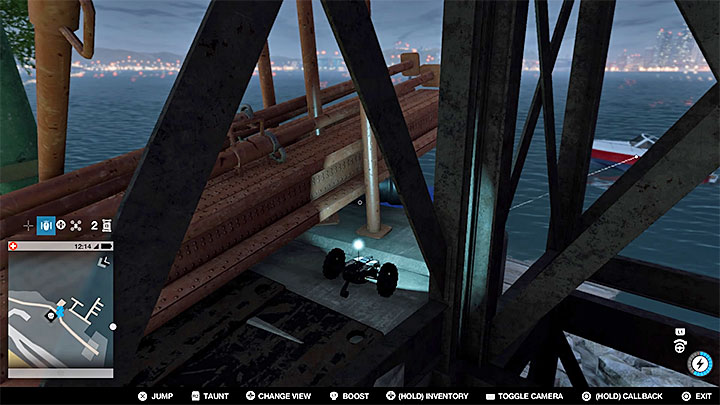 This point can be found in a air duct situated on the roof of Climbax Equipment Cos building - Research points - locations 62-112 - Collectibles - Watch Dogs 2 Game Guide