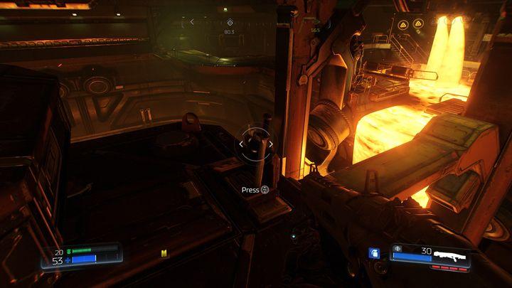В середине моста слева вы можете увидеть небольшую платформу - Foundry |  Секреты - Секреты - Руководство по игре в Doom и прохождение