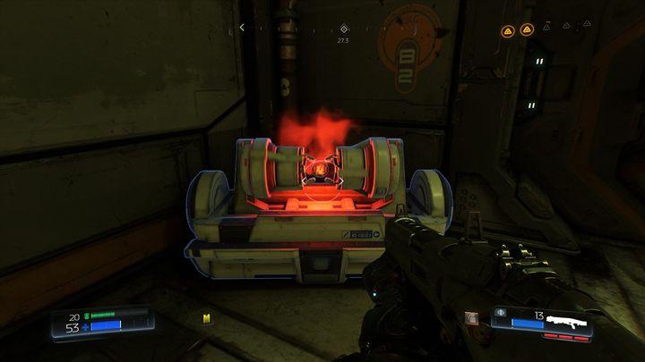 Поверните налево перед входом в Классическую карту и пройдите в конец комнаты - Foundry |  Секреты - Секреты - Руководство по игре в Doom и прохождение