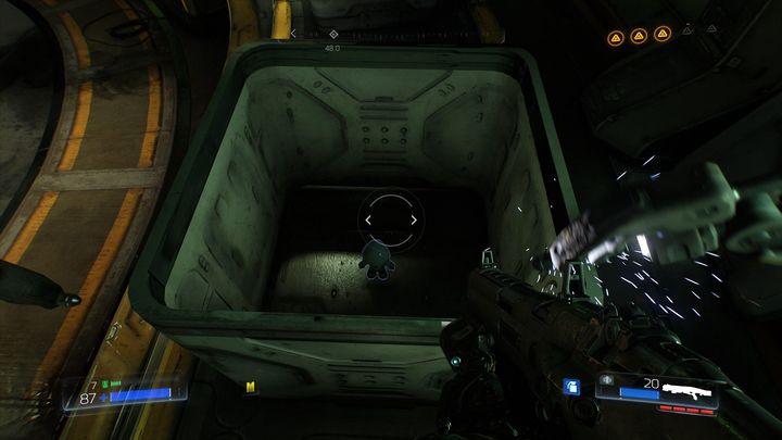 Внутри есть еще один предмет коллекционирования - литейный завод |  Секреты - Секреты - Руководство по игре в Doom и прохождение