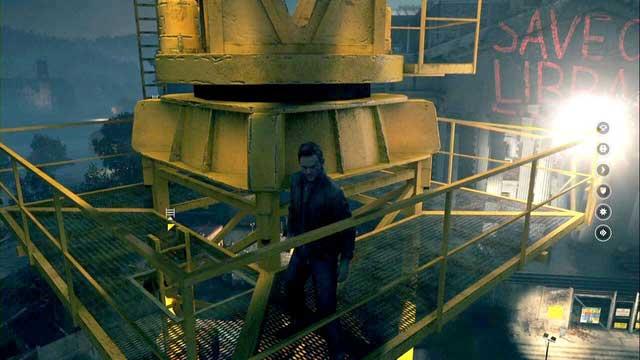 A crane. - Chronon Sources (act IV and V) - Secrets - Quantum Break - Game Guide and Walkthrough