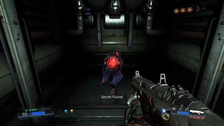 Используйте их, чтобы подняться - Литейный завод |  Секреты - Секреты - Руководство по игре в Doom и прохождение
