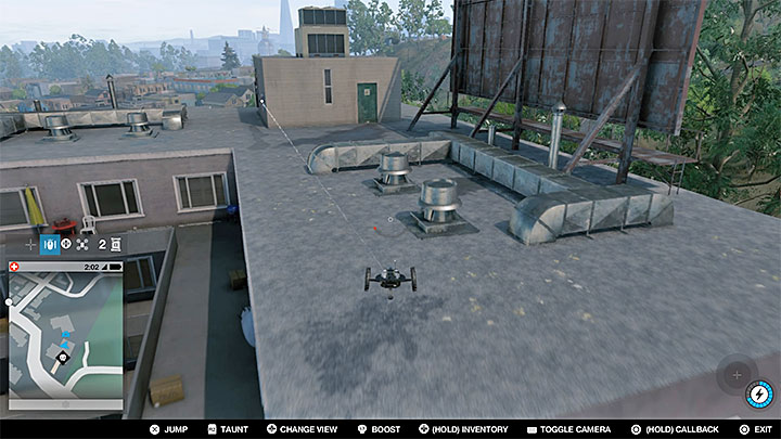 This point is on the roof of a skyscraper, and to reach it, you will need to find and hack the elevator - Research points - locations 62-112 - Collectibles - Watch Dogs 2 Game Guide