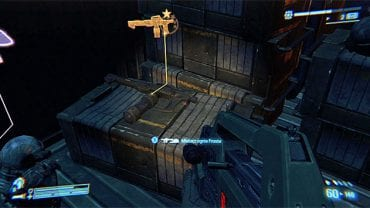 LEGENDARY WEAPON 6/6 (Frosts Flamethrower) - On the box inside the container from which you take the RPG launcher needed to destroy the third AA gun - Legendary Weapons - Collectibles - Aliens: Colonial Marines - Game Guide and Walkthrough