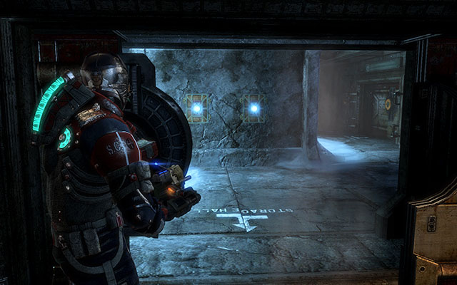 In the next corridor youll find supply lockers - Investigate the warehouses secrets | Co-op missions: Archeology - Co-op missions: Archeology - Dead Space 3 Game Guide