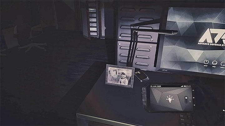Первое фото - Как бороться с электронным замком дверей в ADS HQ?  - Решая головоломки - Get Even Game Guide