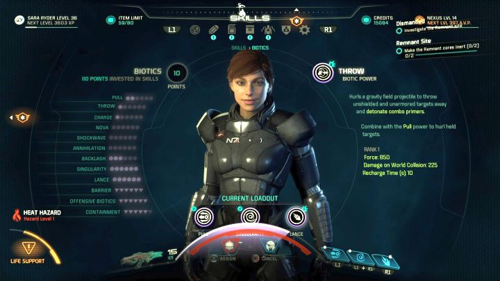 You need Pull and Throw abilities, both from the Biotic tree, to get the achievement. - How to unlock the Fastball trophy in Mass Effect: Andromeda? - Achievements / Trophies - Mass Effect: Andromeda Game Guide