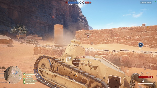 Play aggressively - Tanks - Advice - Battlefield 1 Game Guide