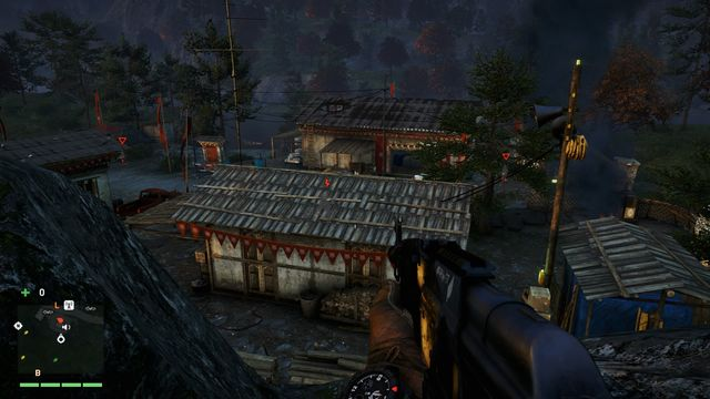 Taking a higher position always helps when capturing outposts. - Kyra Tea Factory - Outposts - One alarm - Far Cry 4 - Game Guide and Walkthrough