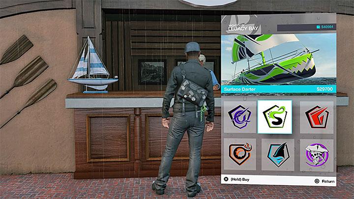 Купите любой парусник для участия в гонке на лодке - Список достижений / трофеев Watch Dogs 2 - Основы - Руководство по игре Watch Dogs 2