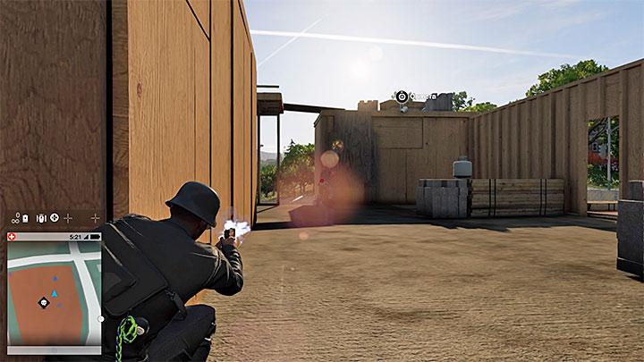 Тазер сбивает врагов без сознания на время Тима - Общие подсказки - Основы - Руководство по игре Watch Dogs 2