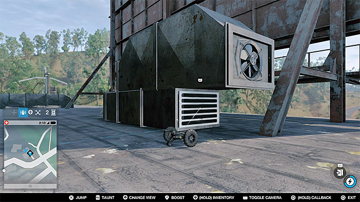 Summon the gadget back to Marcus - Research points - locations 62-112 - Collectibles - Watch Dogs 2 Game Guide