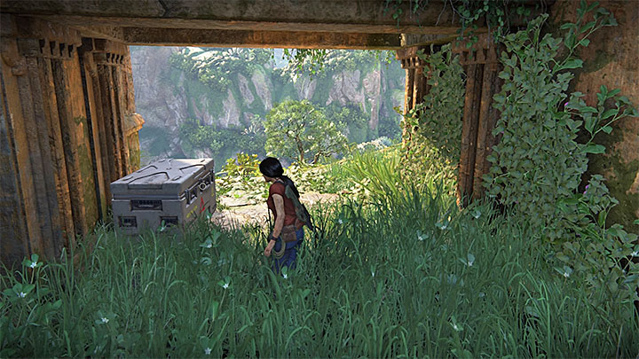 This lockbox is located in the main part of the ruins in Parashurama fort, located in the south-west part - 4 - Photos, optional conversations and lockboxes in Wester Ghats | Secrets - Secrets - Uncharted: The Lost Legacy Game Guide