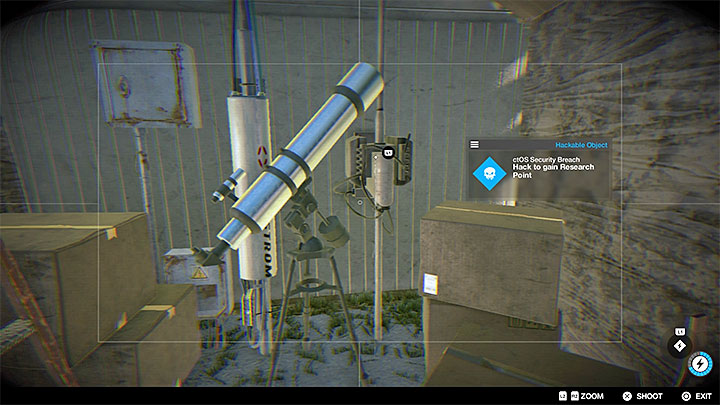This point is located inside a garage found at the back of one of the houses - Research points - locations 62-112 - Collectibles - Watch Dogs 2 Game Guide