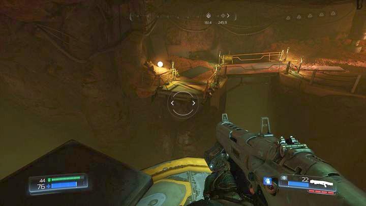Первое испытание руны можно встретить почти в начале уровня - Argent Facility |  Секреты - Секреты - Руководство по игре в Doom и прохождение