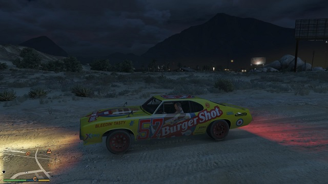 Burger Shot Stallion. - Stock Car Racing - Other Quests - Grand Theft Auto V Game Guide