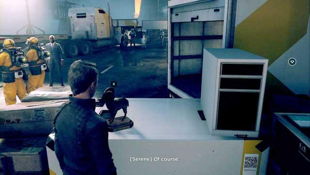 Quantum Ripple - a goat on a box. - Quantum Ripples - Secrets - Quantum Break - Game Guide and Walkthrough