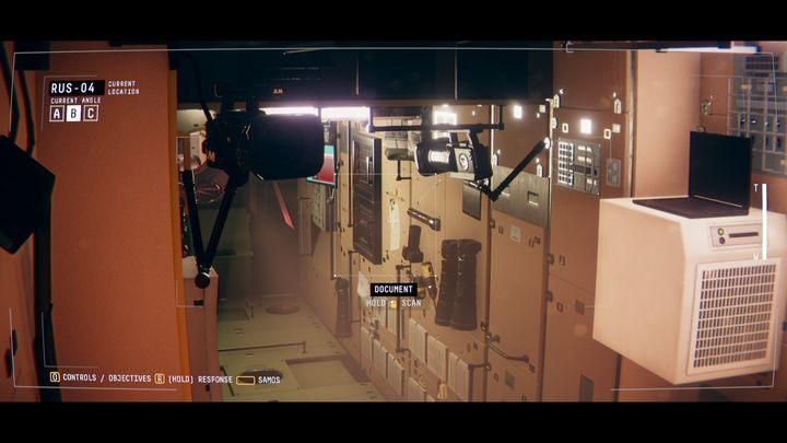 В RUS-04 вы найдете документ на стене (ОБЗОР ФУНКЦИОНАЛЬНОСТИ СТАНЦИИ) - IV.  Центр    Прохождение Наблюдения - Прохождение - Руководство по Наблюдению