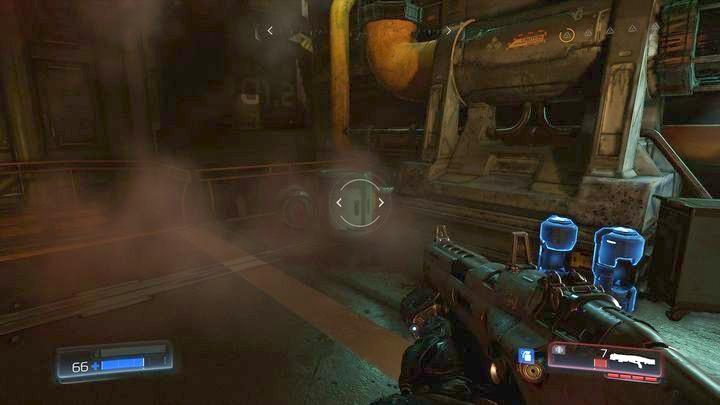 Рядом с первым Журналом данных вы найдете несколько бочек - Argent Facility |  Секреты - Секреты - Руководство по игре в Doom и прохождение