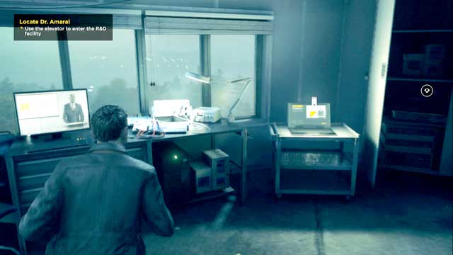 After collecting the Chronon Source located below the tower, head upstairs to the laboratory and examine a notebook. - Quantum Ripples - Secrets - Quantum Break - Game Guide and Walkthrough