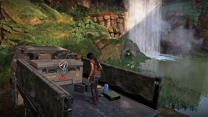 This lockbox is found near the path that leads to Shiva fort located in the north - 4 - Photos, optional conversations and lockboxes in Wester Ghats | Secrets - Secrets - Uncharted: The Lost Legacy Game Guide
