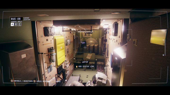 Перейдите к оповещениям, нажмите на первый красный квадрат и сообщите Эмме о неисправных камерах в модуле RUS-06 - IV.  Центр    Прохождение Наблюдения - Прохождение - Руководство по Наблюдению