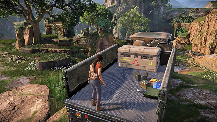 Finding this lockbox can be troublesome because initially you wont be able to find it in the place marked on the map - 4 - Photos, optional conversations and lockboxes in Wester Ghats | Secrets - Secrets - Uncharted: The Lost Legacy Game Guide