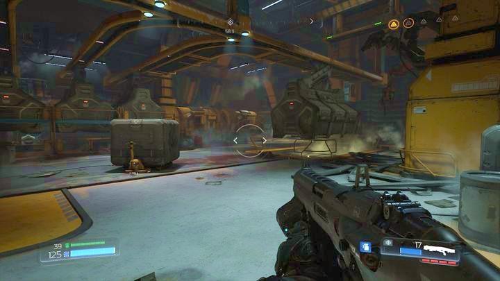 Как только вы соберете второй Журнал Данных и уничтожите фильтр, который находится в том же здании, выйдите на улицу и в комнату слева - Argent Facility |  Секреты - Секреты - Руководство по игре в Doom и прохождение