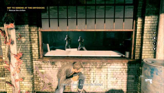 Shoot the two agents from this window and then look around the room. - Intel - Secrets - Quantum Break - Game Guide and Walkthrough