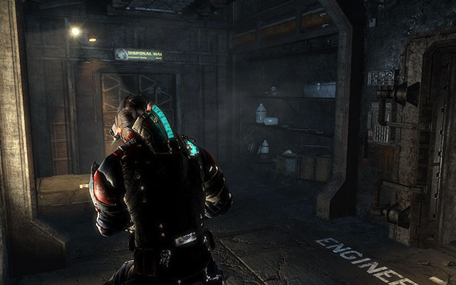 Go to the next part of tunnel, where youll be welcomed by several Necromorphs - Investigate the warehouses secrets | Co-op missions: Archeology - Co-op missions: Archeology - Dead Space 3 Game Guide