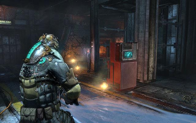 Вы доберетесь до грузового лифта - найдите спрятанные припасы |  Побочные миссии: Supply Depot - Побочные миссии: Supply Depot - Dead Space 3 Руководство по игре