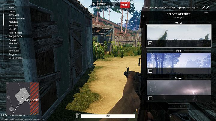 The players that were eliminated can still participate in the game as spectators, following the game from the perspective of those, who are still active - Spectator mode in Fear the Wolves - Course of the match - Fear the Wolves Game Guide