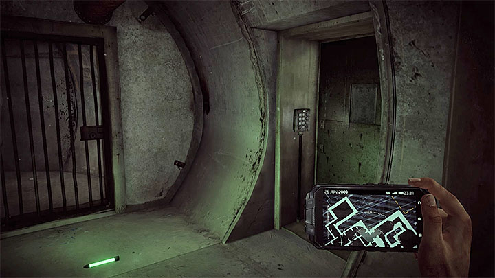 This secret room is not hard to find because you can come across it right after you start this memory that is when you go through the severs - Job for Robert Ramsey | Hidden memories - Hidden memories - Get Even Game Guide