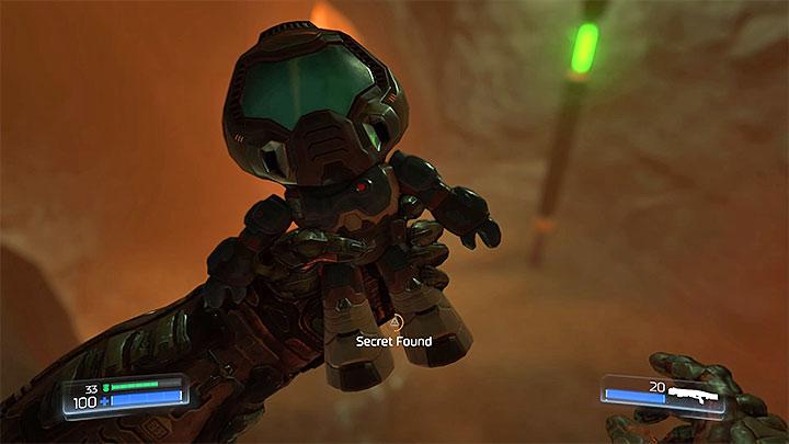 В Doom 26 головокружительных голов, также называемых предметами коллекционирования - Типы секретов в Doom - Секреты - Руководство по игре в Doom и прохождение игры