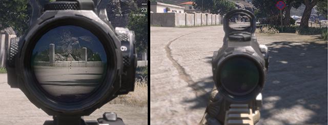 Переключение оптического прицела - Движение - Основы геймплея - Arma III - Бета - Руководство по игре и прохождение игры