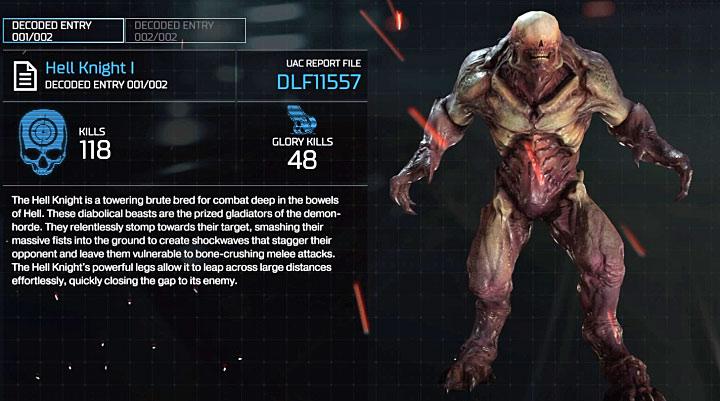 Мастерство требует, чтобы вы убили 5 Рыцарей Ада с модификацией «Точный выстрел» - Все оружие в Doom - Основы - Руководство по игре в Doom и прохождение игры