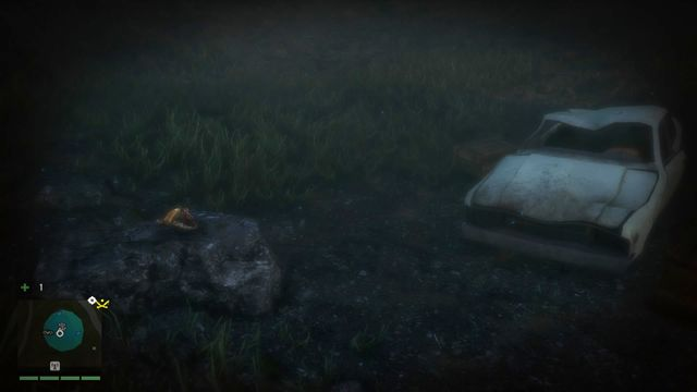 Dive into the water and you will notice a wreck of a car with a body inside - Southern and central Kyrat - Yalungas Masks - Far Cry 4 - Game Guide and Walkthrough