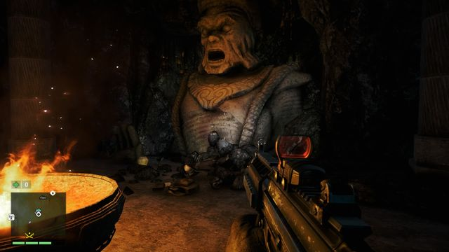 You can enter the cave through a small hole in the ground (use the hook) - Southern and central Kyrat - Lost Letters - Far Cry 4 - Game Guide and Walkthrough