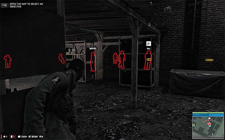 Сканирование области поможет вам планировать дальнейшие шаги и удивлять врагов - Общие советы - Основная информация - Руководство по игре Mafia III