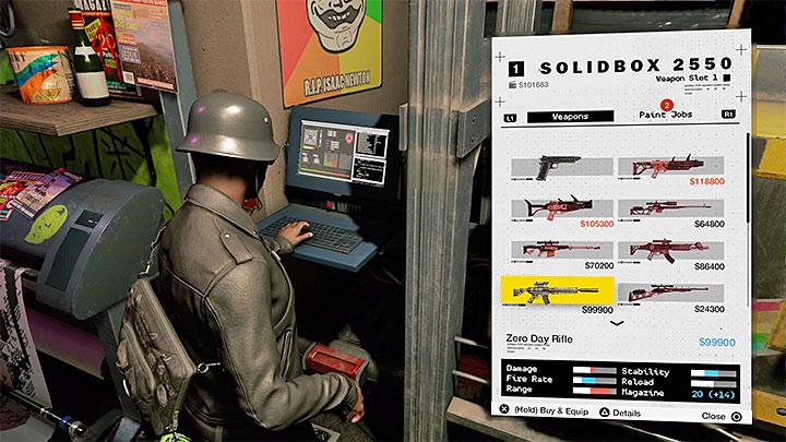3D-принтер позволяет создавать предметы, в том числе оружие - Общие советы - Основы - Руководство по игре Watch Dogs 2