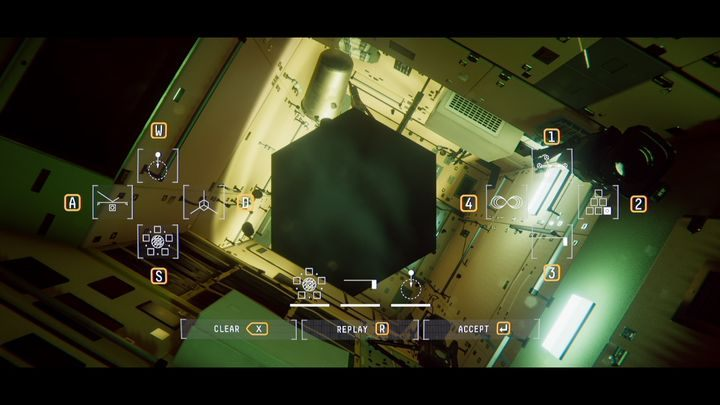 Перейти к RU-04 - V. Вторая космическая прогулка и передача сообщения    Прохождение Наблюдения - Прохождение - Руководство по Наблюдению