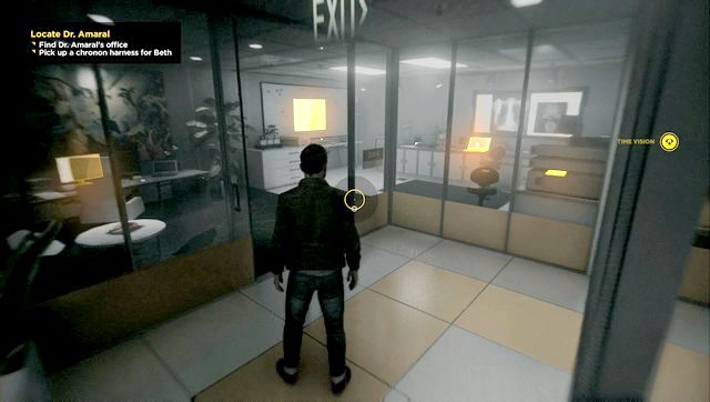 Dr Amarals office - data can be found on the right side, on top of a desk. - Intel - Secrets - Quantum Break - Game Guide and Walkthrough