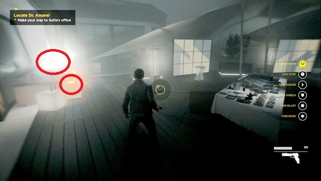 After the conversation with Beth, go forward and collect intel and source. - Intel - Secrets - Quantum Break - Game Guide and Walkthrough