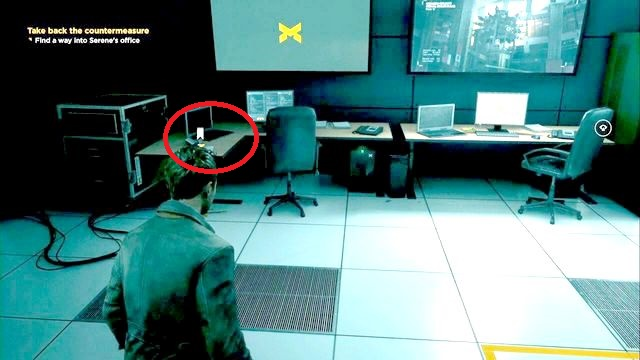 Paperweight located on one of the desks. - Intel - Secrets - Quantum Break - Game Guide and Walkthrough