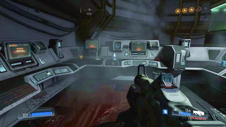 Рядом будет дверь, а за ней другая группа монстров - Argent Facility |  Секреты - Секреты - Руководство по игре в Doom и прохождение