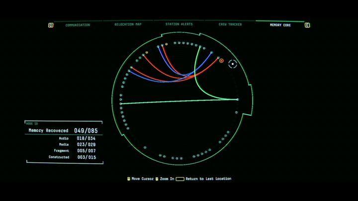 Перейдите в память SAMs и нажмите на мигающую точку - V. Второй пробел и передача сообщения    Прохождение Наблюдения - Прохождение - Руководство по Наблюдению