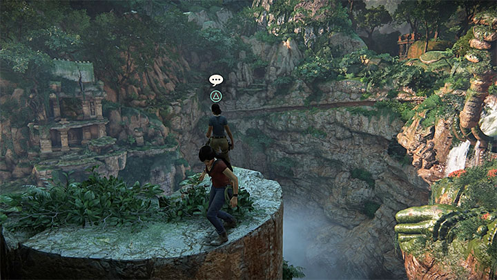 A new opportunity for a conversation with Nadine appears during your climb on gigantic monuments - 5 - The Great Battle - All secrets - Secrets - Uncharted: The Lost Legacy Game Guide