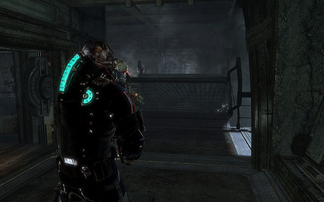 After exiting the elevator, repeal attack of Necromorphs and climb up the ladder - Investigate the warehouses secrets | Co-op missions: Archeology - Co-op missions: Archeology - Dead Space 3 Game Guide