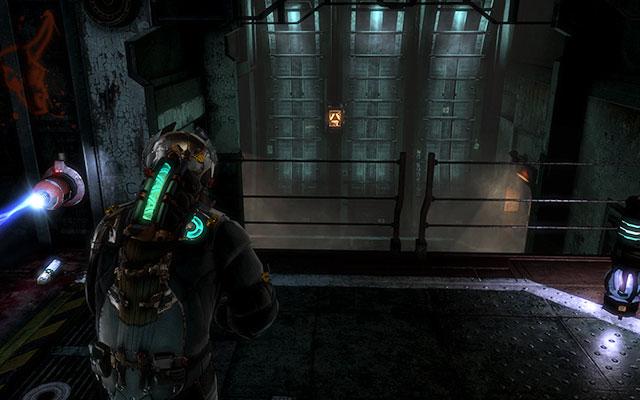 Следующая панель расположена на стене на расстоянии (экран выше) - Найти Эдвардса    Побочные миссии: Conning Tower - Побочные миссии: Conning Tower - Dead Space 3 Руководство по игре
