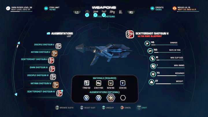 You have to create an item with at least 3 Augments. - How to unlock the Craftsmanship trophy in Mass Effect: Andromeda? - Achievements / Trophies - Mass Effect: Andromeda Game Guide